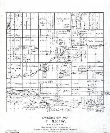 Maricopa County Land Ownership Maps, 1903-1929 - Arizona ...