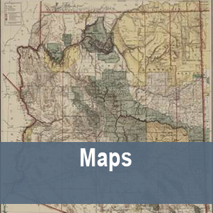 Map Of Arizona 1880.Maps Collections Arizona Memory Project