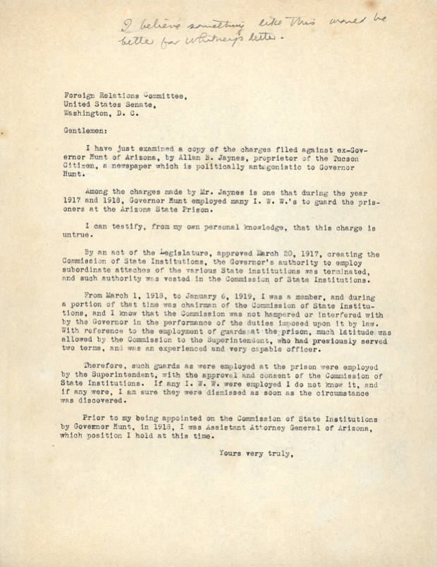 Address Letter To Unknown Person from azmemory.azlibrary.gov