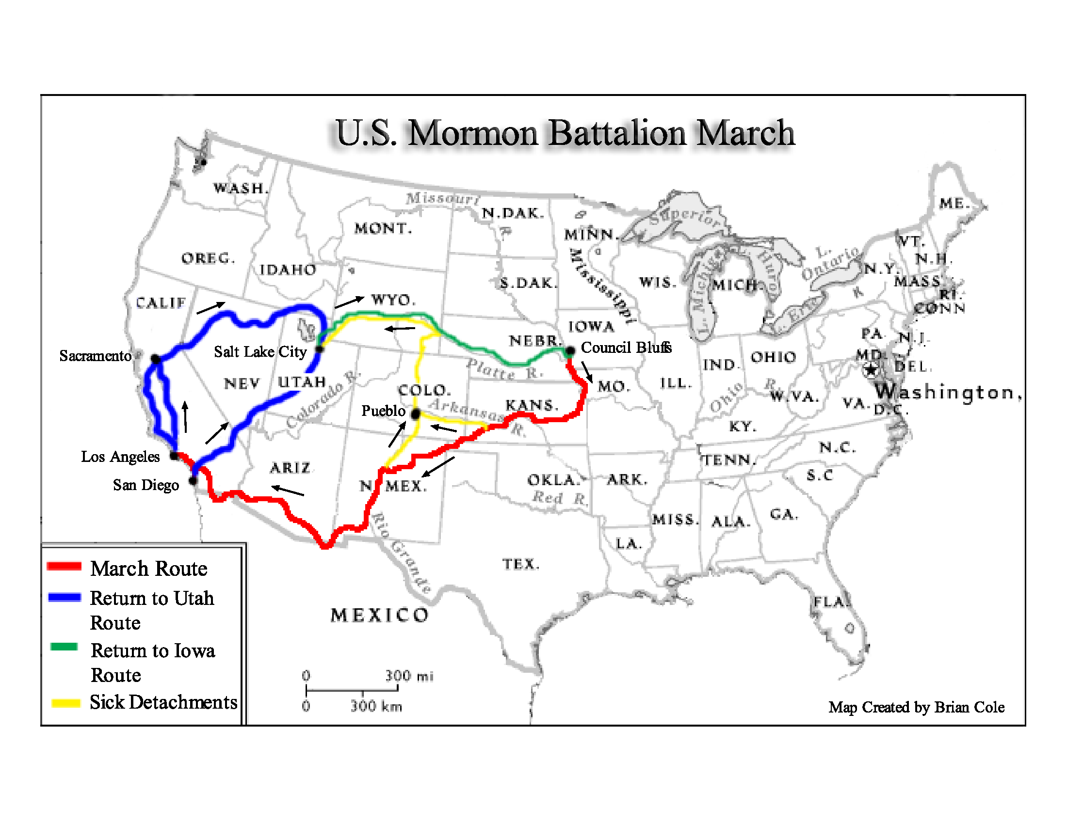 The March of the Mormon Battalion
