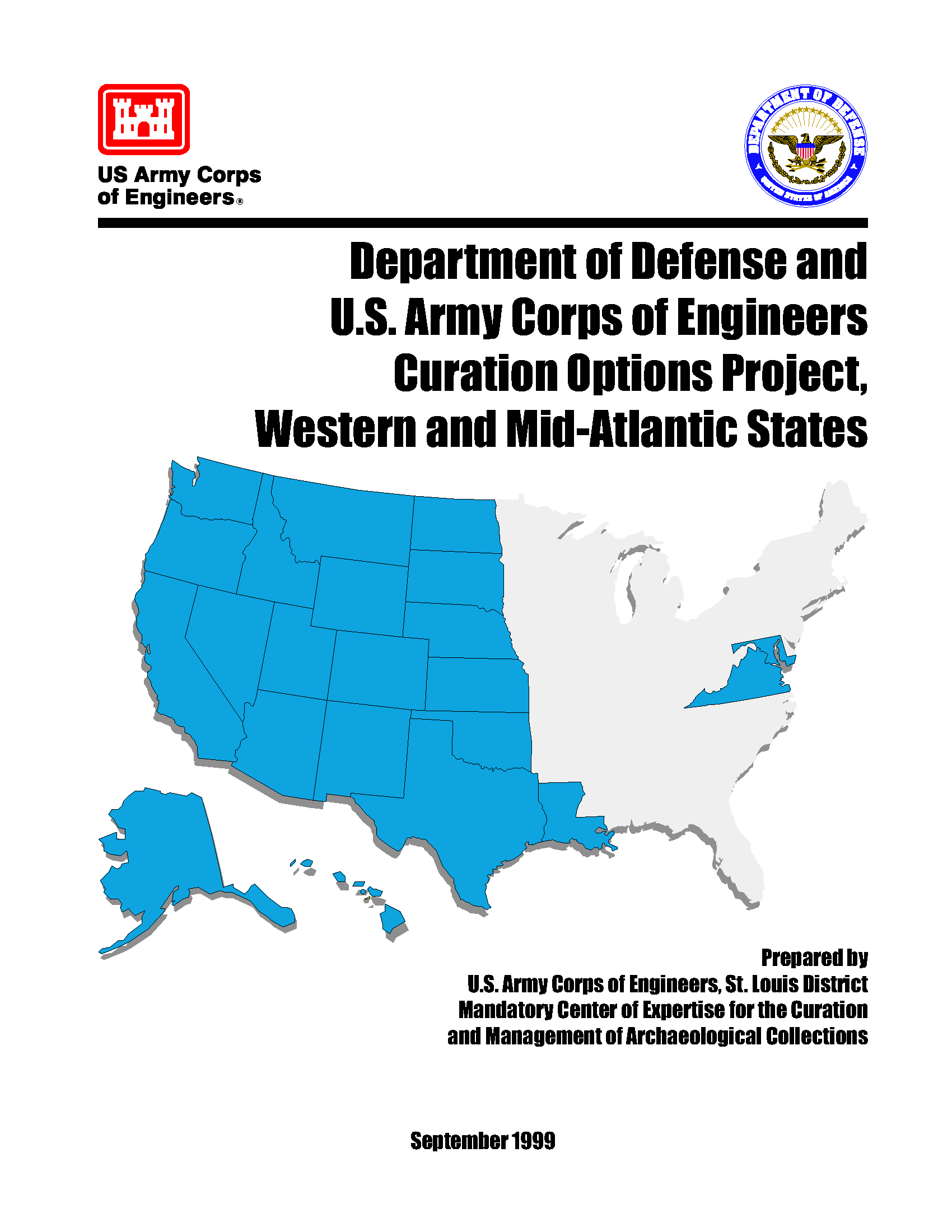 Department Of Defense And Us Army Corps Of Engineers Curation - Us-army-corps-of-engineers-district-map