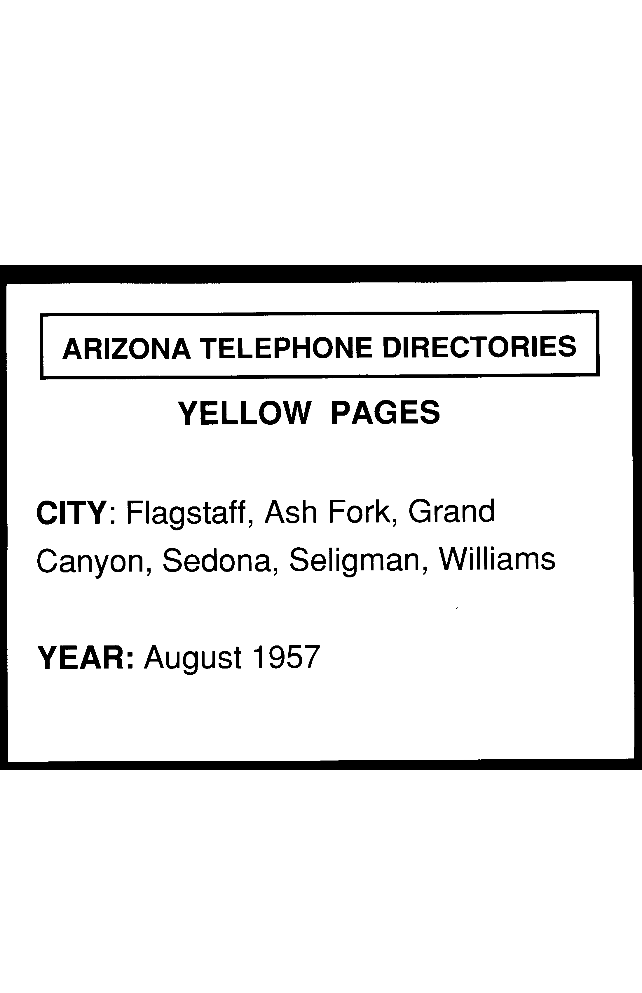 Yellow Pages Directory Pdf