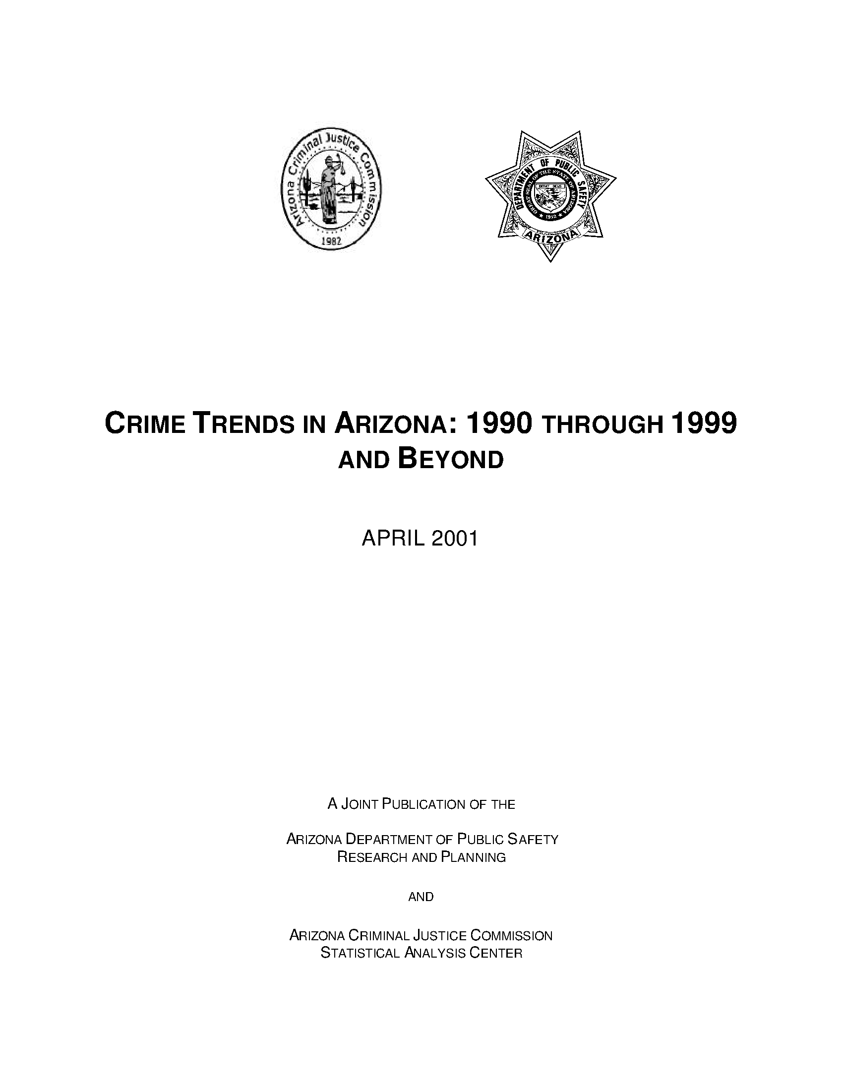 Crime trends in arizona 1990 through 1999 and beyond arizona crime trends in arizona 1990 through 1999 and beyond freerunsca Image collections