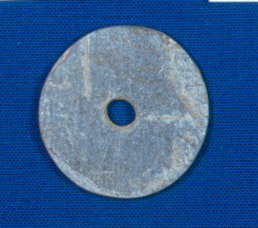 Native american spindle whorl