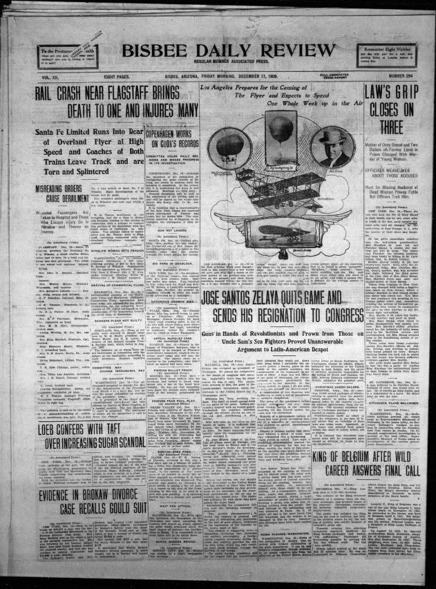 Bisbee daily review, 1909-12-17 - Bisbee Daily Review