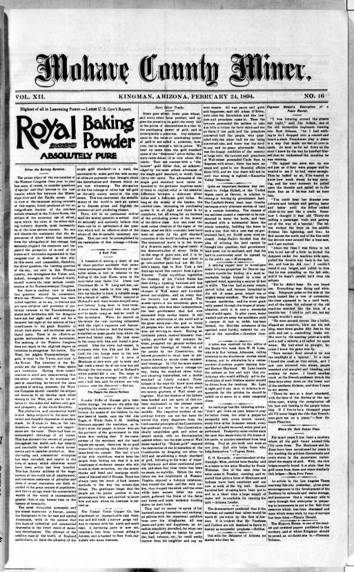 Mohave County miner, 1894-02-24 - Mohave County Miner