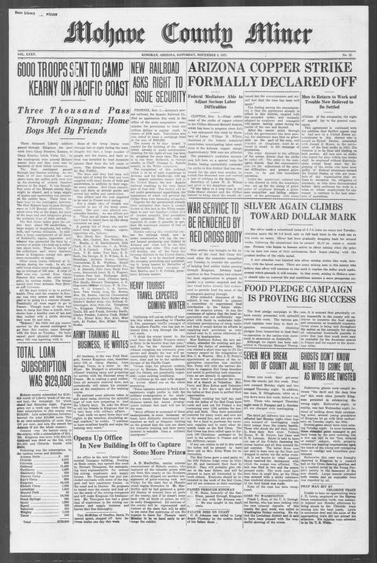 Mohave County miner, 1917-11-03 - Mohave County Miner