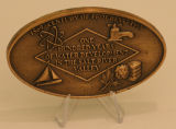 Commemorative Paperweight for 100 Years of Salt River Valley Water Develeopment, Gift to Gov. Jack...