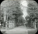 Avenue of Stone Lanterns