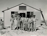 Lt. Barry Goldwater and officers at Luke Field