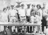 John Wayne with Arizona Junior Hereford Association Field Day group, 26 Bar Ranch
