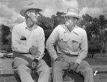 Ranchers Tom Griffen and Walter Armer
