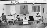 Idelle (Mrs. Matt) Culley in Cow Belles exhibit, Yavapai County Fair, Prescott, Arizona