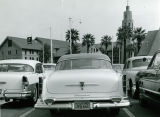 Surveillance of Labor Unionists. Clandestine Photo of a Car with a California License Plate near...