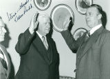 Autographed Photograph to Stephen C. Shadegg of Congressman Eldon Rudd Taking the Oath of Office...