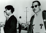 Cesar Chavez at a Labor Rally