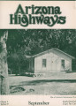 Arizona Highways, September 1931