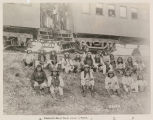 Geronimo and Band En Route to Florida After Surrender