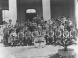 The Southern Pacific Railroad Band, Tucson, circa 1920.