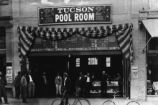 Tucson Pool Room, ca. 1915.
