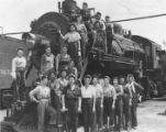 Sothern Pacific Female Workers World War II, ca 1940s.