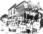 First Holy Communion at Sagrado del Corazon de Jesus Catholic Church, circa 1925