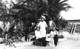 Group Portrait of Family in Santa Ana, Sonora, Mexico, late 1910s
