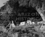 Lower Ruin of the Tonto National Monument near Globe, Arizona.