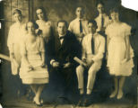 First Confirmation Class of Temple Beth Israel, 1920