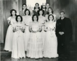 Confirmation Class, Temple Beth Israel, 1949