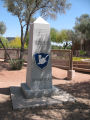 Bushmasters monument in Wesley Bolin Memorial Park in downtown Phoenix, Arizona in 2009.