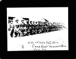 H Company 1st Infantry, Camp Hunt, Prescott, Arizona, July, 1913