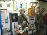 Korea War display.