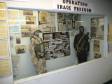 Operation Iraqi Freedom display.