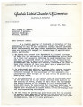 Letter from Glendale Chamber of Commerce  to Governor Osborn, October 27, 1942, re: shortage of...