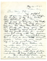 Letter from Sarah Garcia to Miss Flying, May 28, 1942, re: internment of Jacob Kane, Jr.