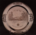 Serving Tray with First Capitol Engraving