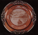 Serving Tray with San Francisco Mountains Engraving