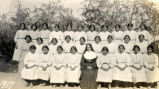 St. John's Mission, Komatke, Gila River Reservation, AZ: Highest girls' class