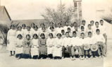 St. John's Mission, Komatke, Gila River Reservation, AZ: Papago Indian children