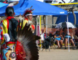 Powwow Contestants and Spectators