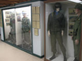 Representative Vietnam soldiers exhibit