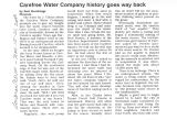 Carefree Water Company History Goes Way Back
