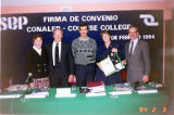 Signature of Convention With Cochise College