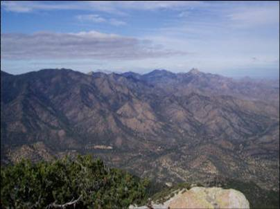 Military Outposts in the Chiricahua Mountains