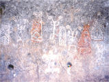 Polychrome Pictographs - Mexico