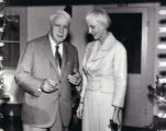 Robert Frost and Ruth Stephan, 1960