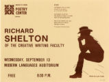 Richard Shelton Flyer, 1978