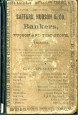 Arizona Business Directory 1881 (Part 1 of 4) - Cover and Index