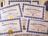 2000-2002 Certificates of Achievement